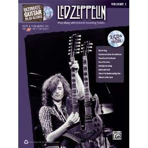 Alfred Led Zeppelin Ultimate Play Along Guitar Volume 1
