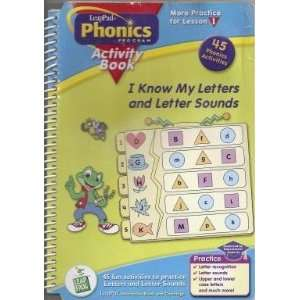 I Know My Letters and Letter Sounds (Leappad Phonics Program