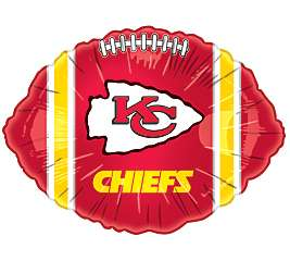 NFL Kansas City CHIEFS FOOTBALL Tailgate Party Balloon