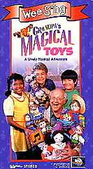 Wee Sing   Grandpas Magical Toys VHS, 1995 096898242134
