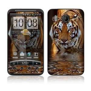 HTC Desire HD Decal Skin Sticker   Fearless Tiger