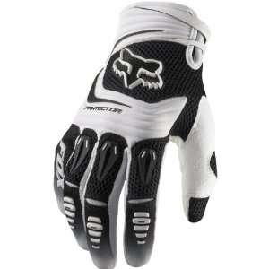 Fox Racing Pawtector Mens MotoX Motorcycle Gloves   White