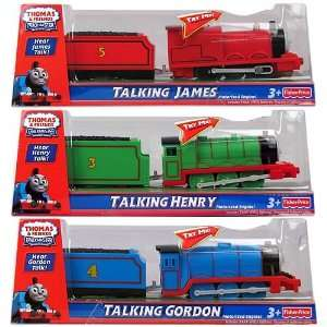 Thomas and Friends Talking Motorized Engines Case Toys