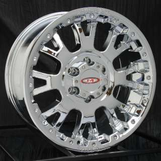 17 inch Chrome Wheels/Rims Chevy GMC 6 Lug 1500 Truck