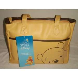 Disney Pooh Bear Baby Boy Girl Diaper Bag  Yellow Baby