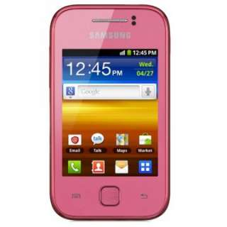 New Pink Samsung S5360 Galaxy Y Unlocked Phone Works for T mobile, AT
