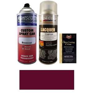 12.5 Oz. Dark Red Pearl Metallic Spray Can Paint Kit for 1992 Jeep All
