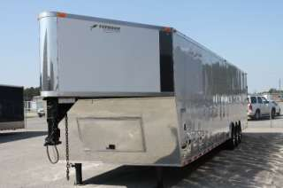 NEW 2012 8.5 X 40 ENCLOSED GOOSENECK CARGO TRAILER