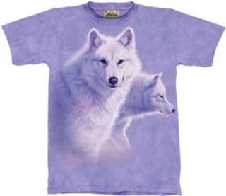 The Mountain Graceful White Wolves Tee T shirt Clothing
