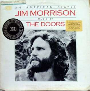 JIM MORRISON DOORS an american prayer LP WLP 5E 502