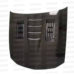 Ss style Carbon Fiber Hood for 2005 2008 Ford Mustang