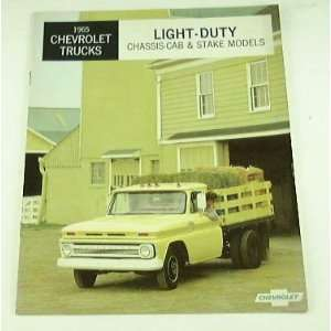 1965 65 Chevrolet CHEVY LIGHT DUTY Truck BROCHURE