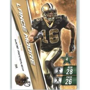 2010 Panini Adrenalyn XL NFL Football Trading Card # 244 Lance Moore