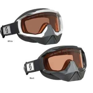 USA Hustle Snowcross Goggles With Speed Strap   White   217785 0002108