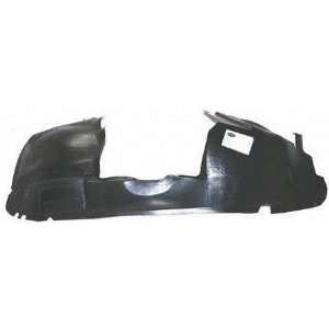 01 05 DODGE GRAND CARAVAN FRONT SPLASH SHIELD RH (PASSENGER SIDE) VAN