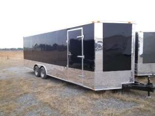 5x20 CARGO ENCLOSED TRAILER CAR HAULER SCREWLESS ONE PIECE ROOF