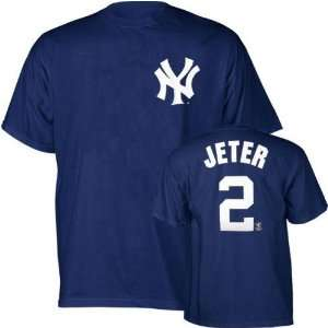 Derek Jeter (New York Yankees) Name and Number T Shirt