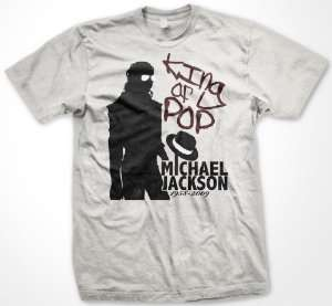 Michael Jackson Memorial King Of Pop T Shirt (Mens and