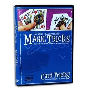 Amazing Easy to Learn Magic Tricks DVD Card Tricks with