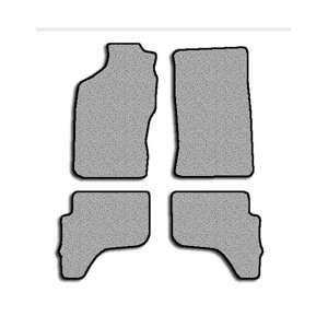 Toyota Tacoma Touring Carpeted Custom Fit Floor Mats   4 PC Set   Dark