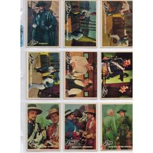 Zorro   Walt Disney You Fat Fool #43 Single Trading Card