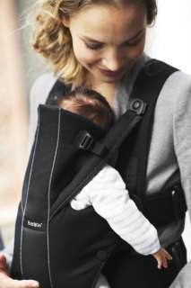 BabyBjorn Baby Carrier Miracle   Black/Brown, Organic 874594002739