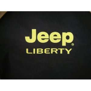 ® Brawny Series   Jeep® Liberty Yellow logo Tire Cover Automotive