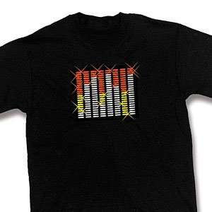 SOUND ACTIVATED EQUALIZER T SHIRT MEDIUM
