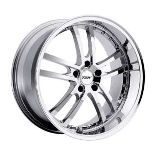 18 TSW CADWELL CHROME RIMS WHEELS 18X8 +35 5X100