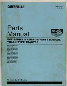 Caterpillar Parts Manual D6R Track Type Tractor