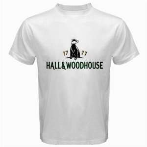 Hall and Woodhouse Beer Logo New White T Shirt Size  S, M