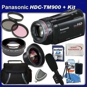Panasonic HDC TM900 High Definition Camcorder with SSE Kit