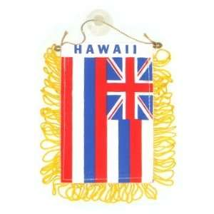Hawaii State Flag Mini Car Banner for Auto Mirror Automotive