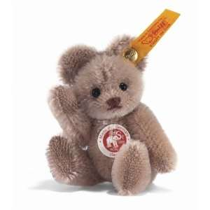 Steiff Mini Teddy Bear stands just over 3 tall color is