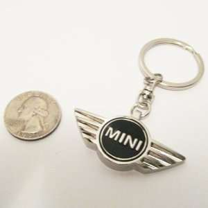 Mini Cooper Black Three dimensional Keychain Everything
