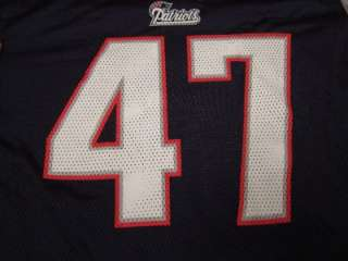 Mens John Lynch New England Patriots NFL Football Jersey Sz L