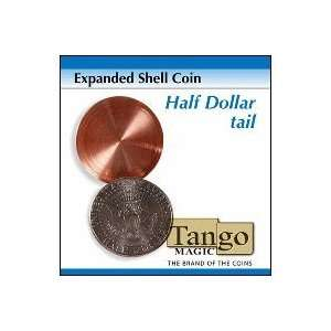 Expanded Shell Coin   Half Dollar (Tail) by Tango Magic Toys & Games