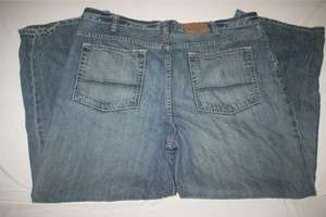 Old Navy Mens Loose Wide Leg Blue Jeans New 40x30