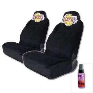 Los Angeles Lakers High Back Car Seat Covers with Large