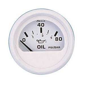 Faria Dress White Series Oil Pressure Gauge