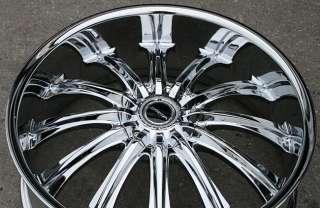 STRADA CORONA 20 CHROME RIMS WHEELS GRAND CHEROKEE