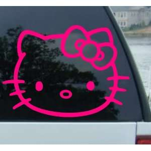 6 HELLO KITTY   Cat Feline   Car, Truck, Notebook, Vinyl