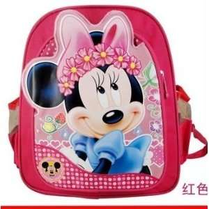 Toddler Kindergarten Disney Mickey Minnie Mouse School Bag Backpack