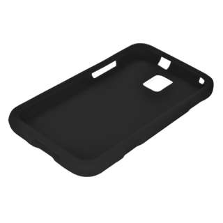 For Samsung Focus S/I937 Soft Silicone SKIN Protector Cover Case Black