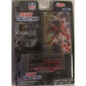 Falcons 1999 Fleer/White Rose NFL Diecast GMC Yukon featuring Chris