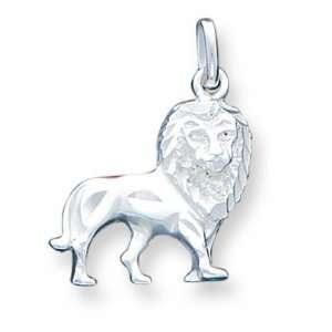 Sterling Silver Lion Charm Jewelry