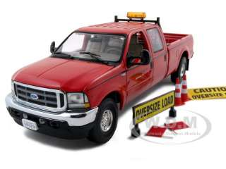 FORD F 250 CREW CAB PILOT PICK UP TRUCK 1/34 RED J&A