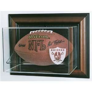 Oakland Raiders NFL Case Up Football Display Case