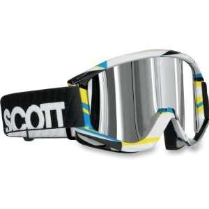 Scott USA Recoil Pro Goggles , Color Shatter/Silver Lens