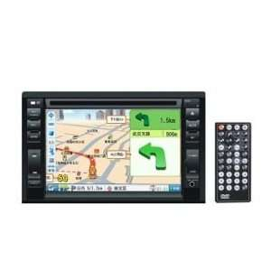 6.2 inch Touch Screen 2 Din In Dash Car DVD Player Built